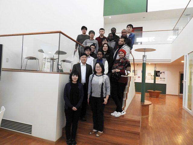 集合写真/Participants in the seminar